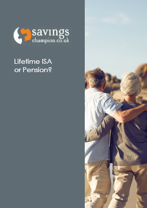 Lifetime ISA or Pension? cover image.