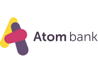 Logo for provider Atom Bank