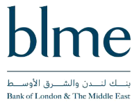 Logo for provider Bank of London and the Middle East (BLME)