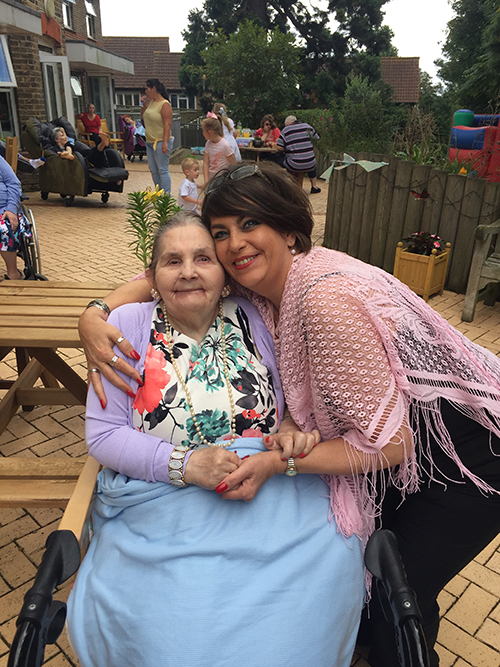 Millstream House - Big Picnic (person we support and her support worker)