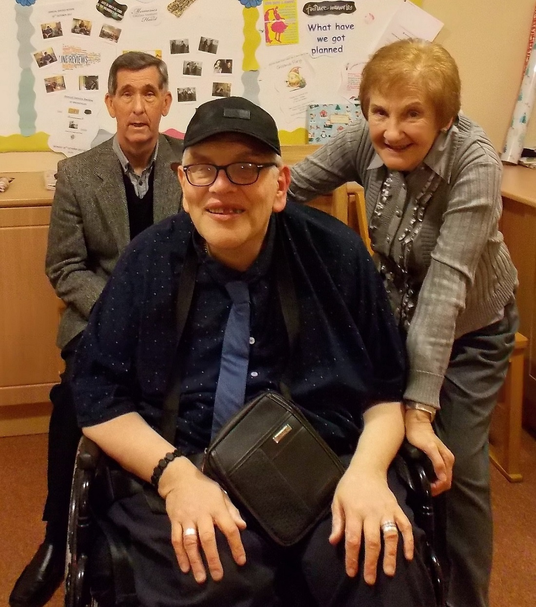 John, one of Brookfields' long-standing residents
