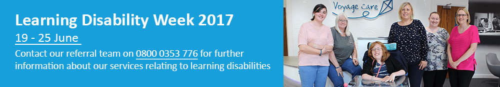 Learning Disability Week 2017 Banner