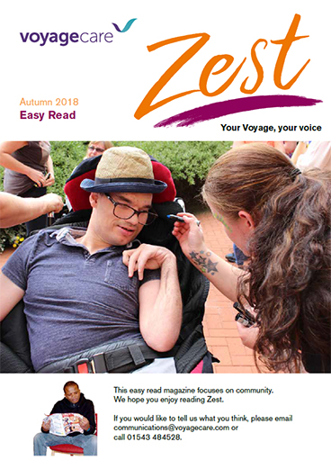 Zest Autumn 2018 issue - Easy Read version