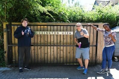 Ruddington View - Entrance