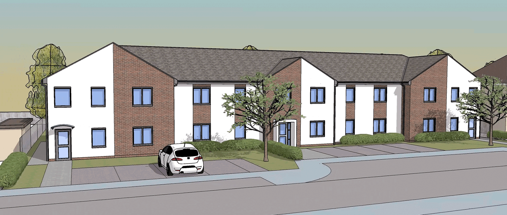 Our new supported living development in Wolverhampton - Barnard Road