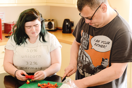 Successful transition: supported living in Wolverhampton