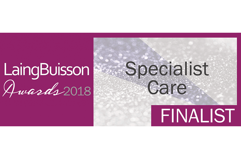 ​Voyage Care announced as finalists for the 2018 LaingBuisson awards