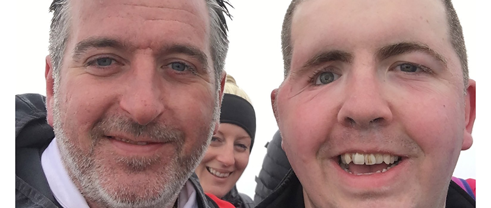 Ex-soldier John raises £1,500 for charity on his Snowdon walk