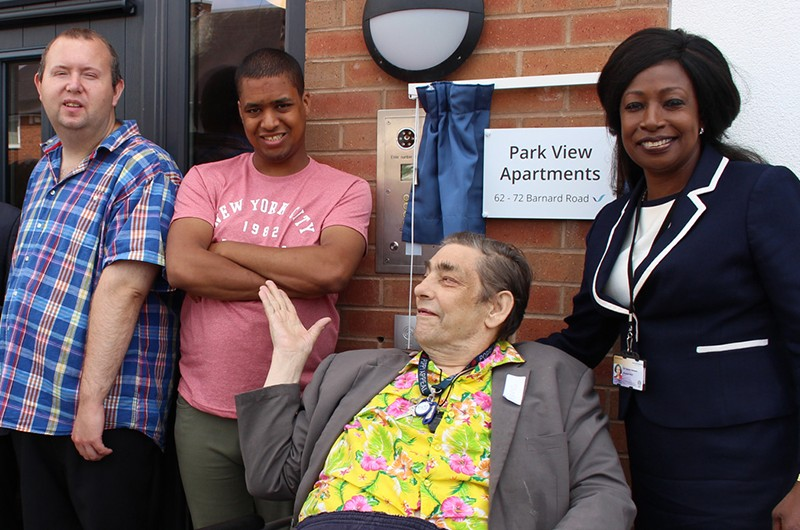 Park View supported living apartments now open
