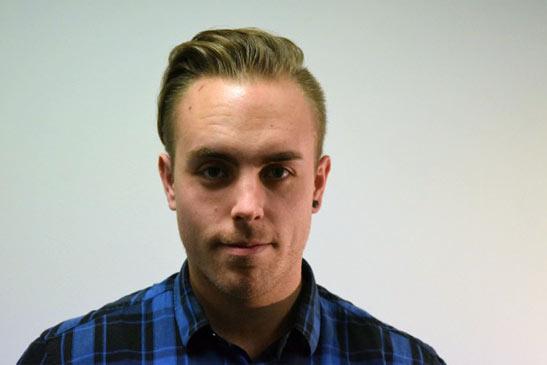 Photograph of Tom Johnson