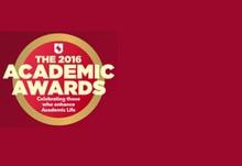 Academic awards news