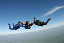Aff level 1   skydive langar