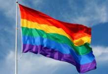 Pa equality watch rainbow flag