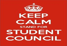 Student election poster