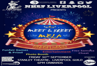 Meet and greet mela 2016 liverpool guild of students your first impression a good and lasting one so this year we decided to do something different and unique meet and greet is the first nhsf liverpool m4hsunfo