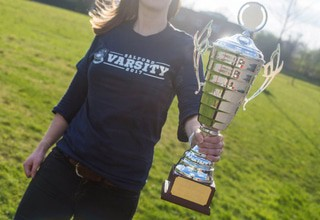 Varsity   post article image with trophy