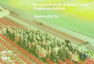 Group photo esc34 cym