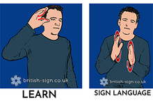 Learn sign language articles