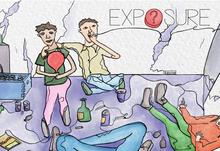 Exposure film