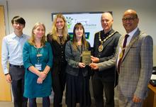 Green impact award   frome medical practice 4