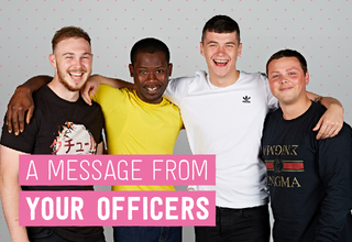 Blog post a message from your officers