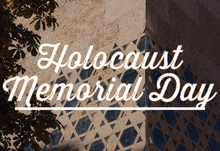 Holocaust memorial day event listing 04 04