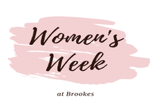 Womens week main logo