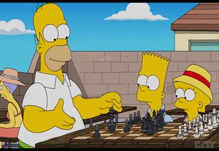Simpsons chess