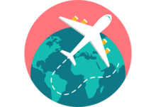 Travel icon for articles