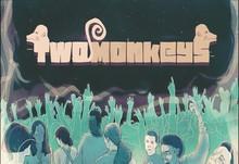 Two monkeyss