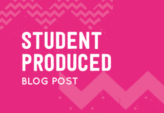 Student produced blog post