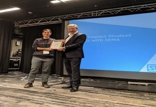 Iema nia thomas award   student leadership