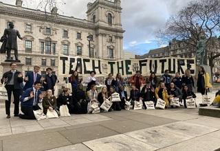 Teach the future outside parliament