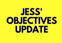 Jess objective update