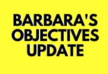 Barbara objective update