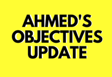 Ahmed objective update
