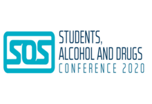 Students  alcohol and drugs conference 2020 logo white background