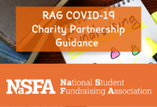 Rag covid 19 charity partnership guidance