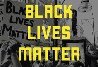 Black lives matter graphic article