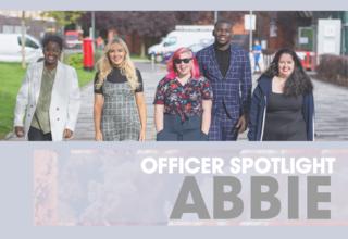 2020   article   officer spotlight   abbie 01