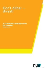 Dont dither divest   a divestment campaign guide for students