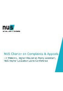 Nus charter