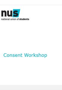 Ppt consent workshop
