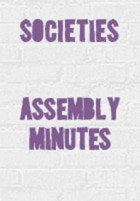 Assembly minutes