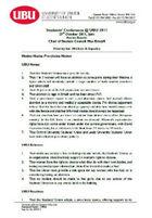 Pro choice motion 2011