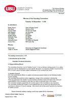 Standing committee 2013
