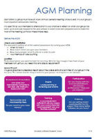 Agm planning guide for societies