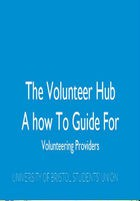 Volunteer hub guide
