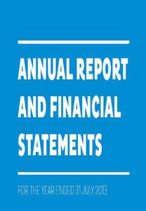 Annual report and financal statements 2013