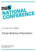 Fringe booking